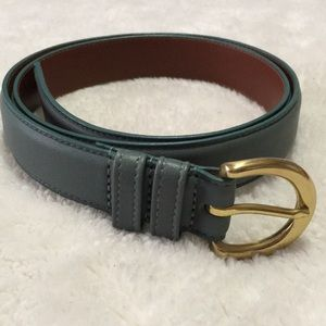 Coach women's leather belt vintage
